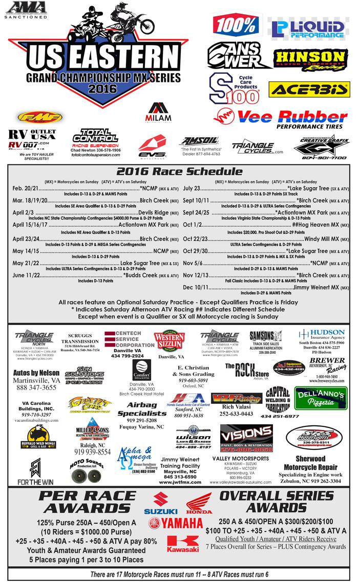 Birch Creek Grand Championship Series